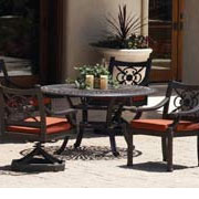 Cast Aluminum Dining Sets