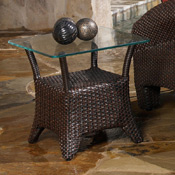 Synthetic Wicker Occasional Tables