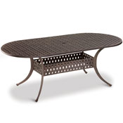 Individual Aluminum Dining Tables