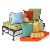 Outdoor Cushions & Throw Pillows