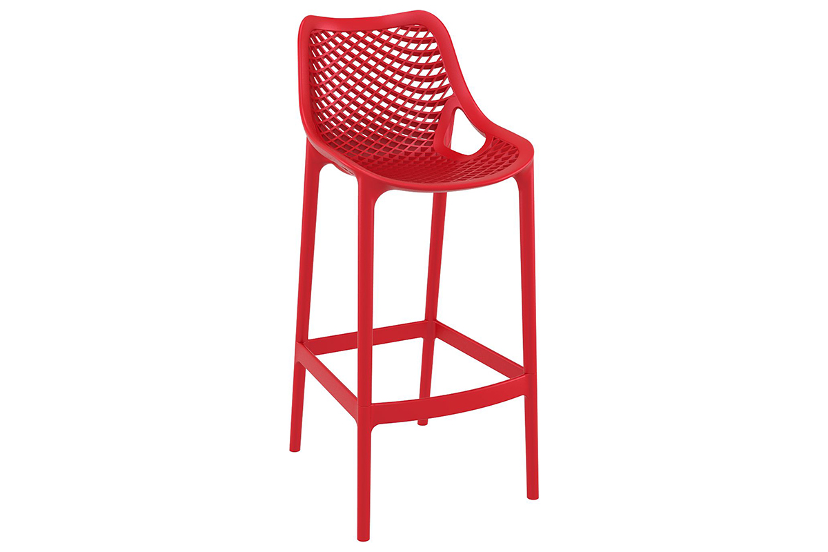 Air Bar Stool in Red