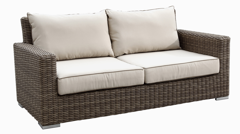 Coronado Outdoor Wicker Love Seat by Sunset West (2101-22)