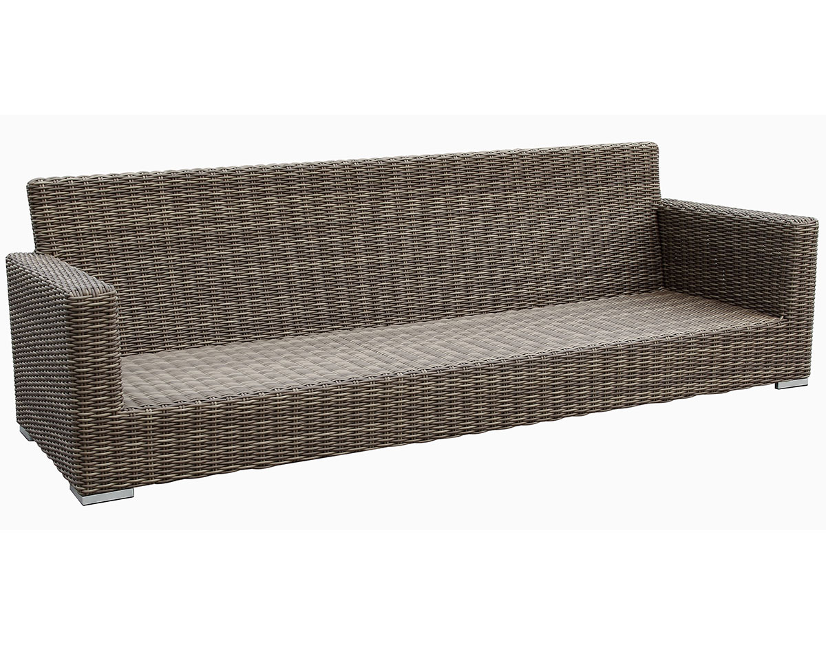 Coronado Outdoor Wicker Sofa - Frame
