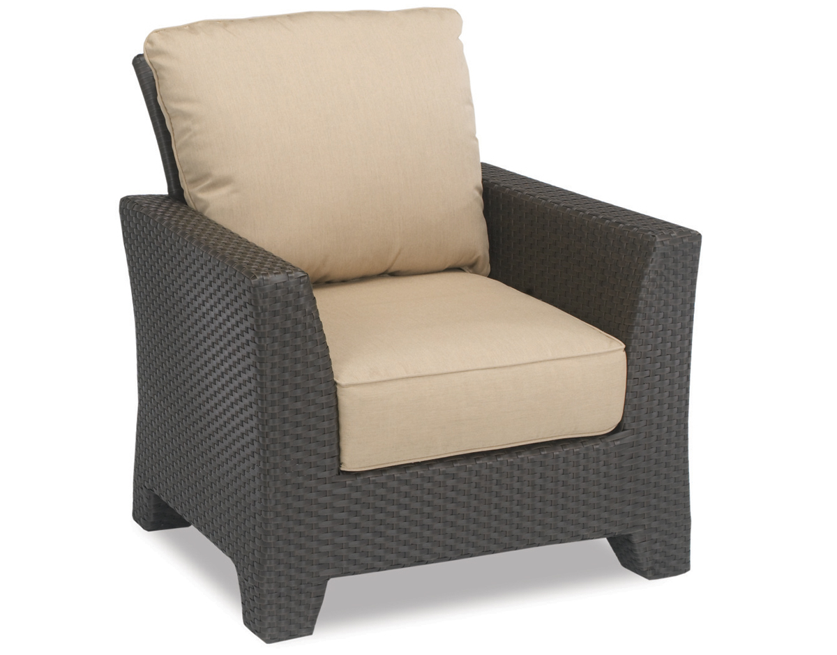 Malibu Outdoor Wicker Club Chair by Sunset West (301-21)