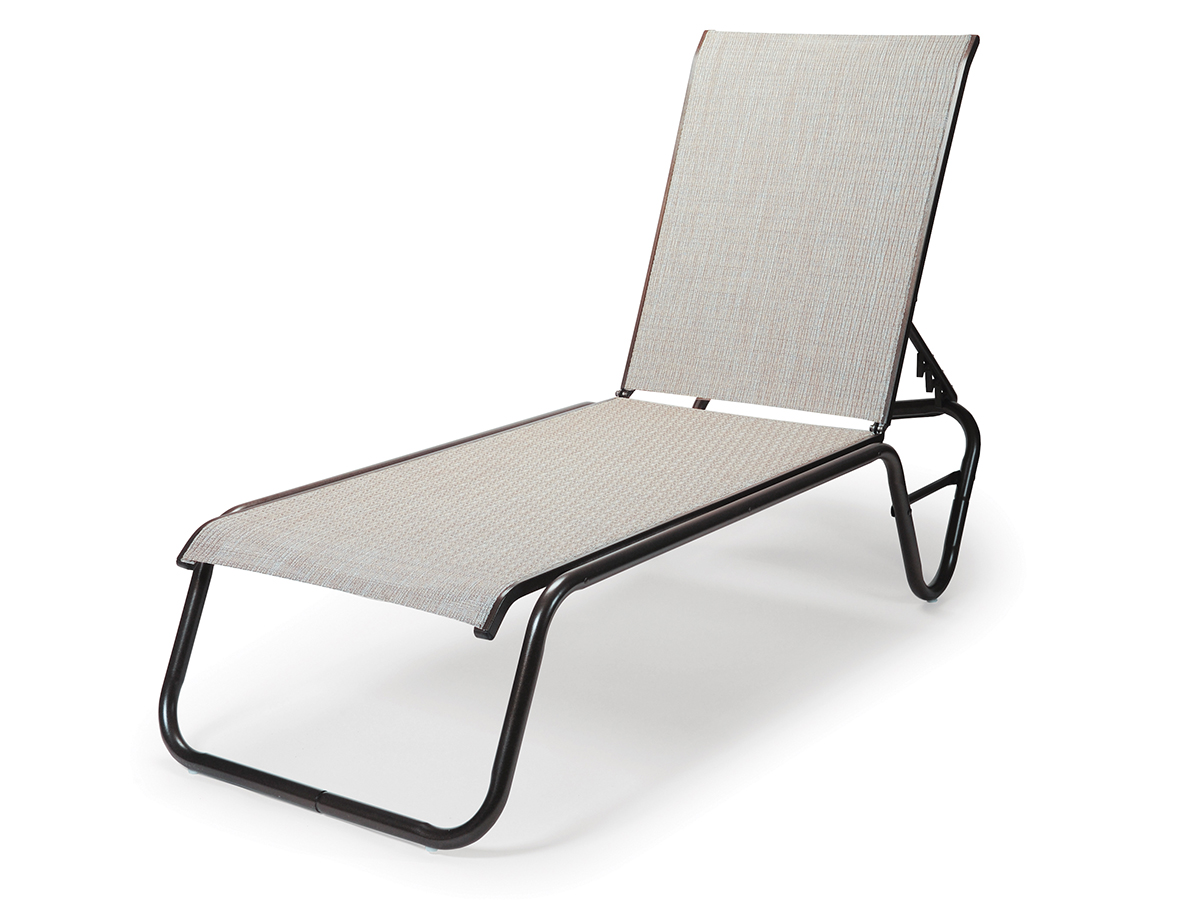gardenella sling fourposition stacking armless chaise x  -  gardenella sling fourposition stacking armless chaise