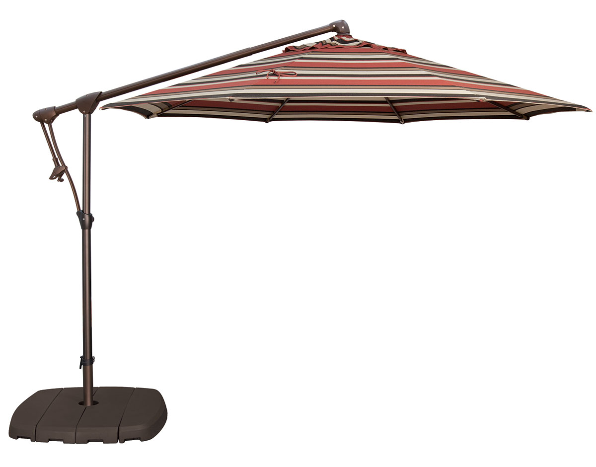 10u0027 custom octagon cantilever umbrella