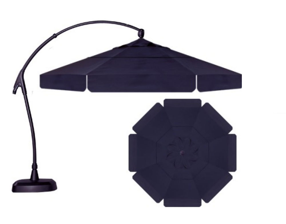 Shown with All One Fabric - In Sunbrella Navy