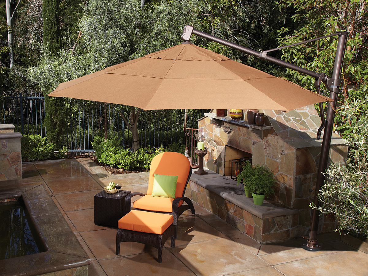 Wonderful ... Shown With Acrylic Fabric In Teak (5488) · 13u0027 Umbrella ...