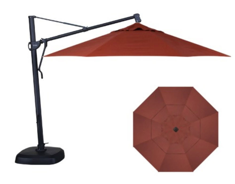 11' Custom Cantilever Octagon Umbrella