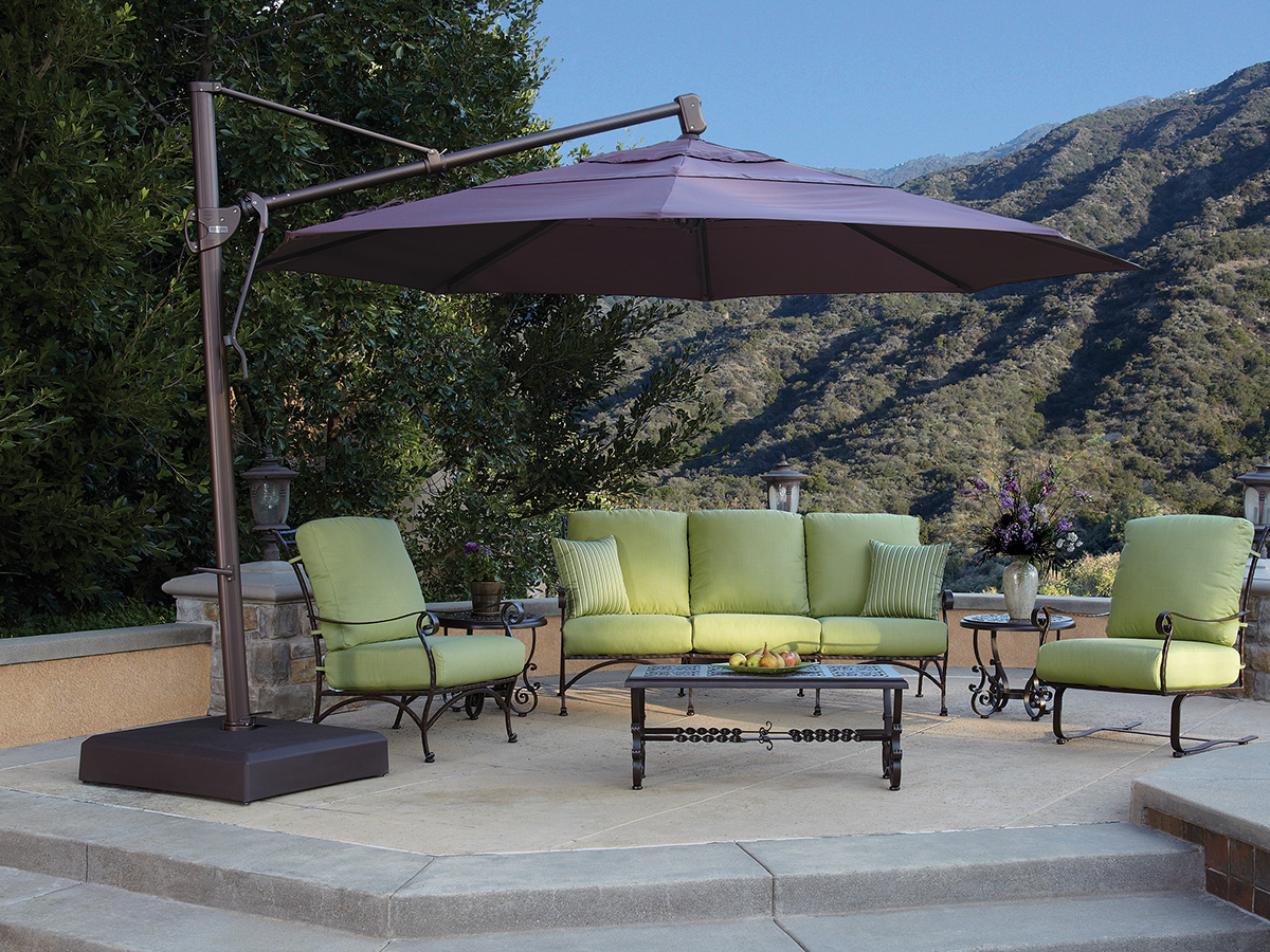 13 Octagon Cantilever Umbrella Akz13 Dwv Patio