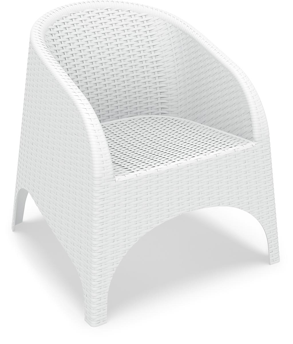 White Chair - Shown without Cushion