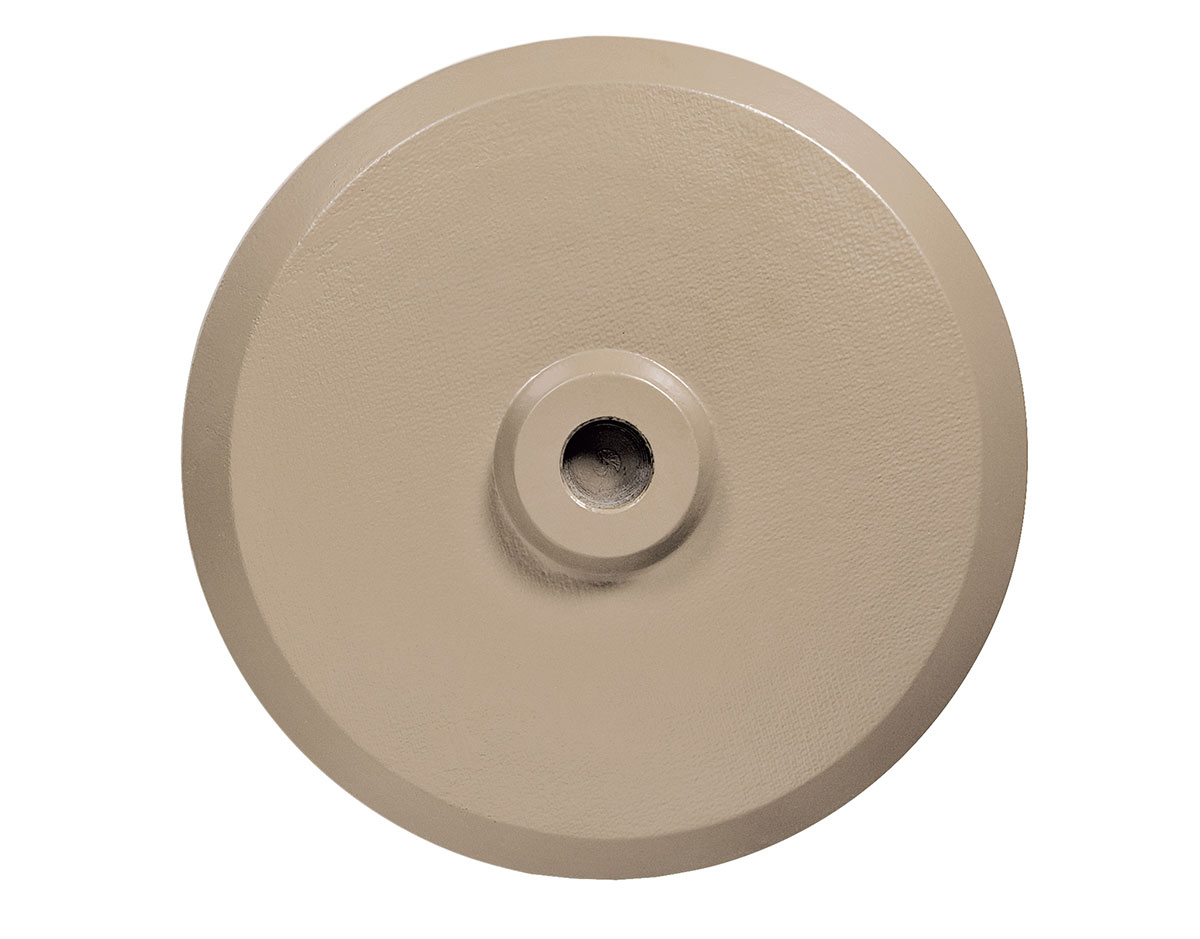 champagne finish available finishes dimensions - Umbrella Base