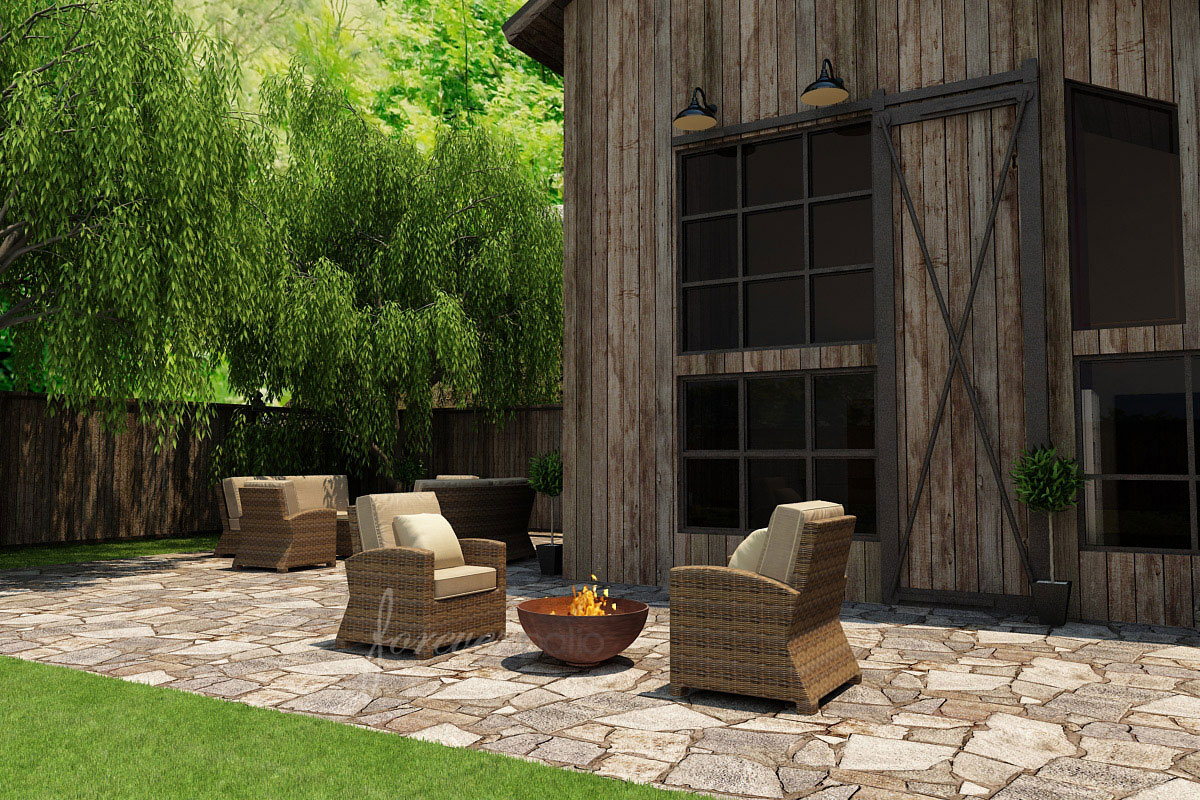 2 Piece Cypress Chat Set by Forever Patio (FP-CYP-2CH-HR)