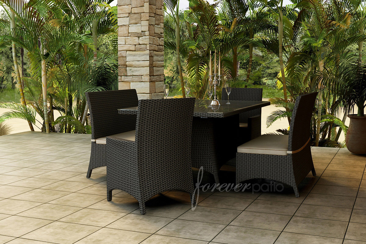 5 Piece Hampton Dining Set by Forever Patio (FP-HAM-5DN)
