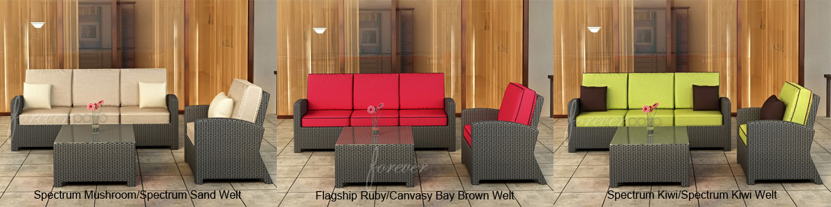 3 Pc. Barbados Sofa Set