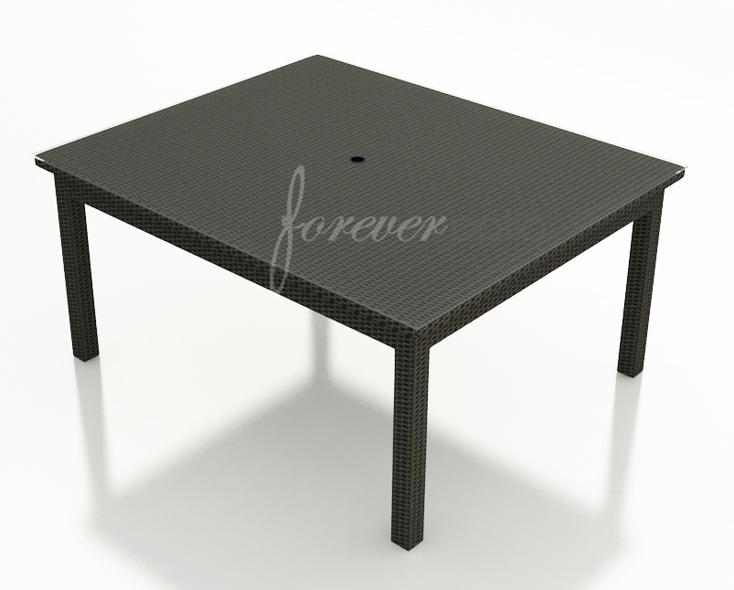 """Barbados 60"""" Dining Table by Forever Patio (FP-BAR-60SDT-EB)"""