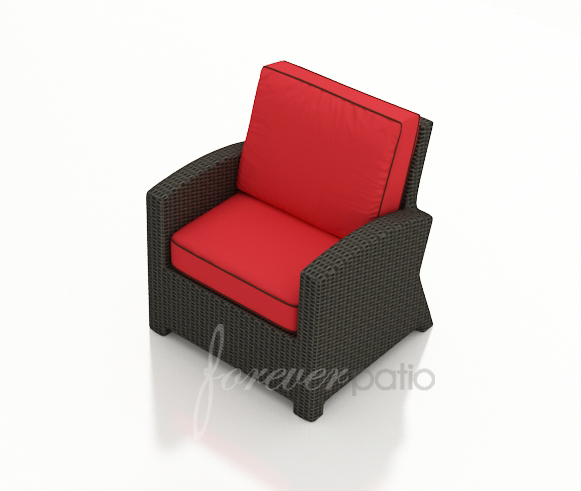 Barbados Wicker Club Chair by Forever Patio (FP-BAR-CC-EB)