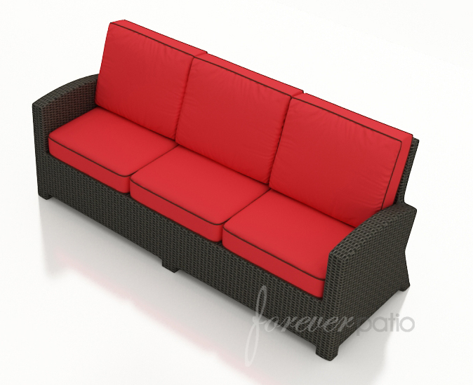 Barbados Wicker Sofa by Forever Patio (FP-BAR-S-EB)