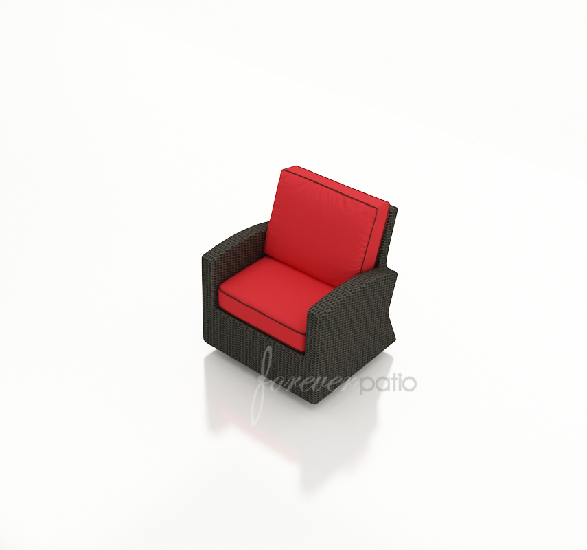 Optional swivel glider