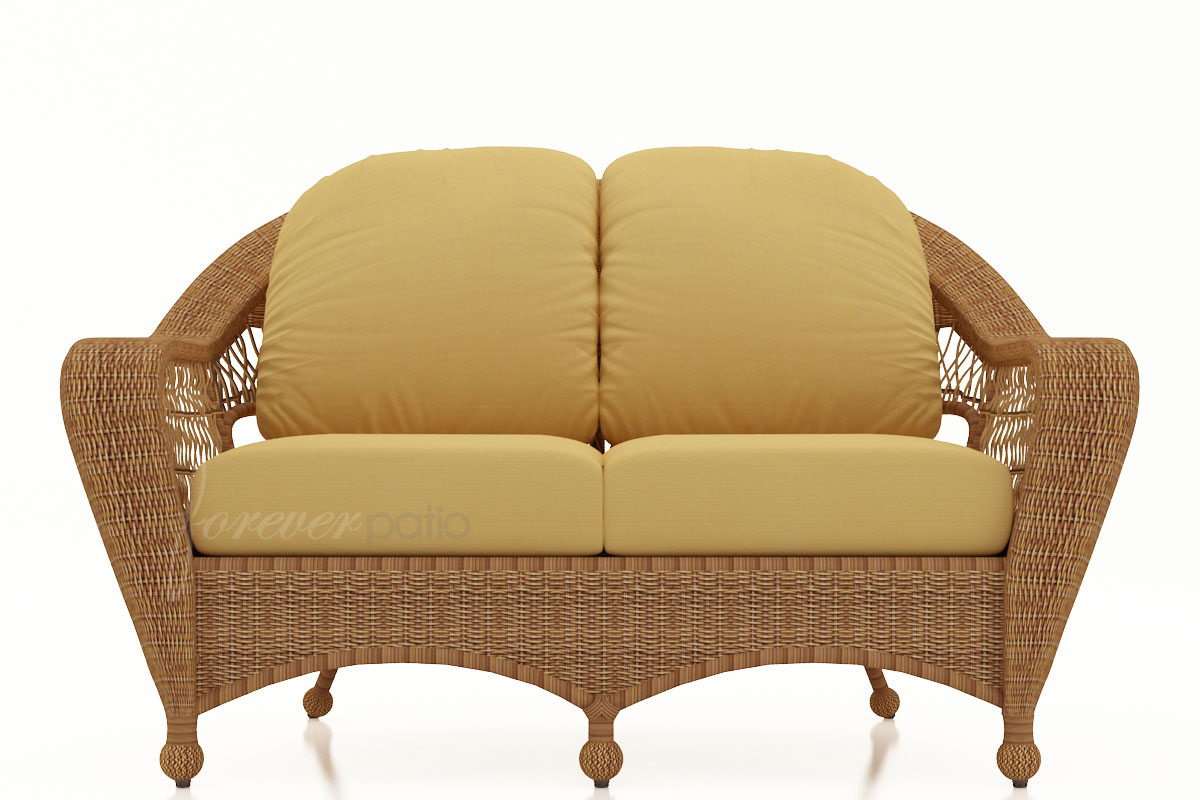 Catalina Loveseat *Straw Finish Not Available* (FP-CAT-LS)
