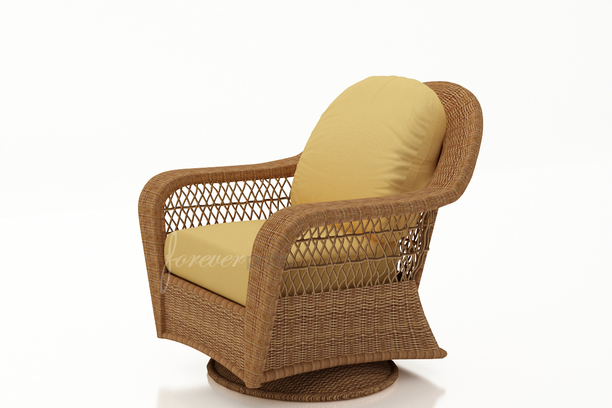Catalina Swivel Glider Chair *Straw Wicker Not Available* (FP-CAT-SGC)