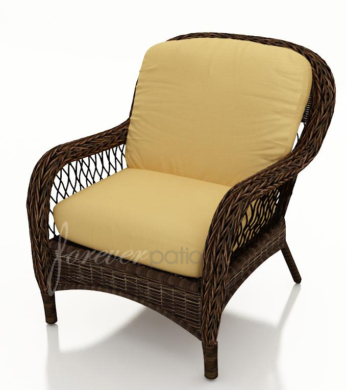 Leona Wicker Lounge Chair by Forever Patio (FP-LEO-LC-MC)