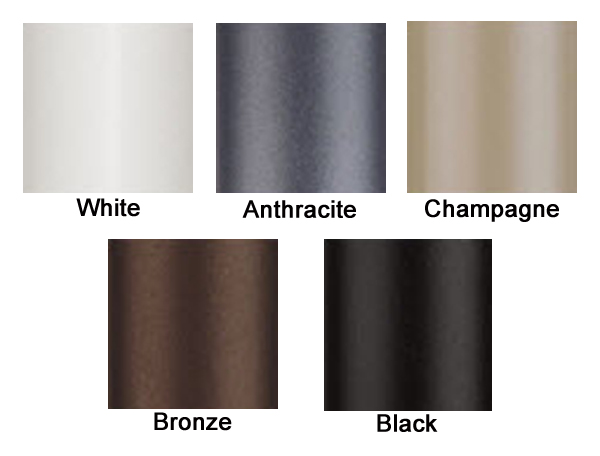 All Available Finishes