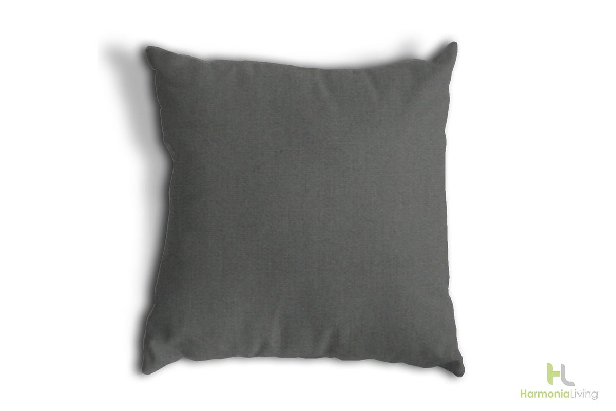 Canvas Charcoal Cushions