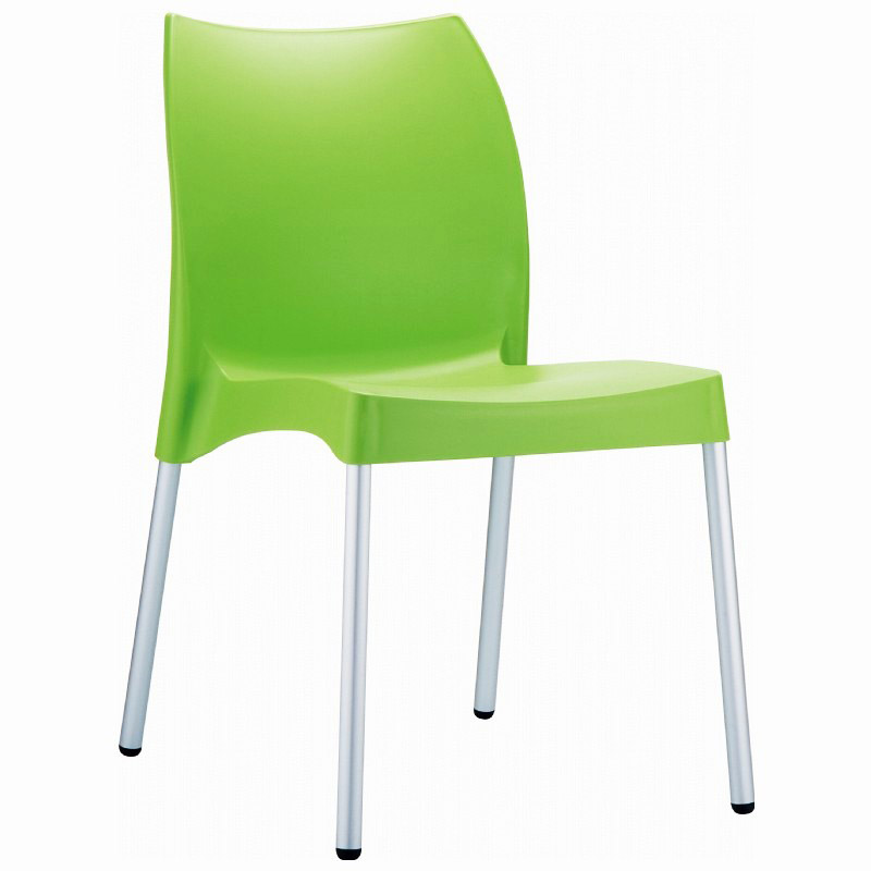 2 piece vita outdoor dining chair set patio productions for Furniture 888 formerly green apple