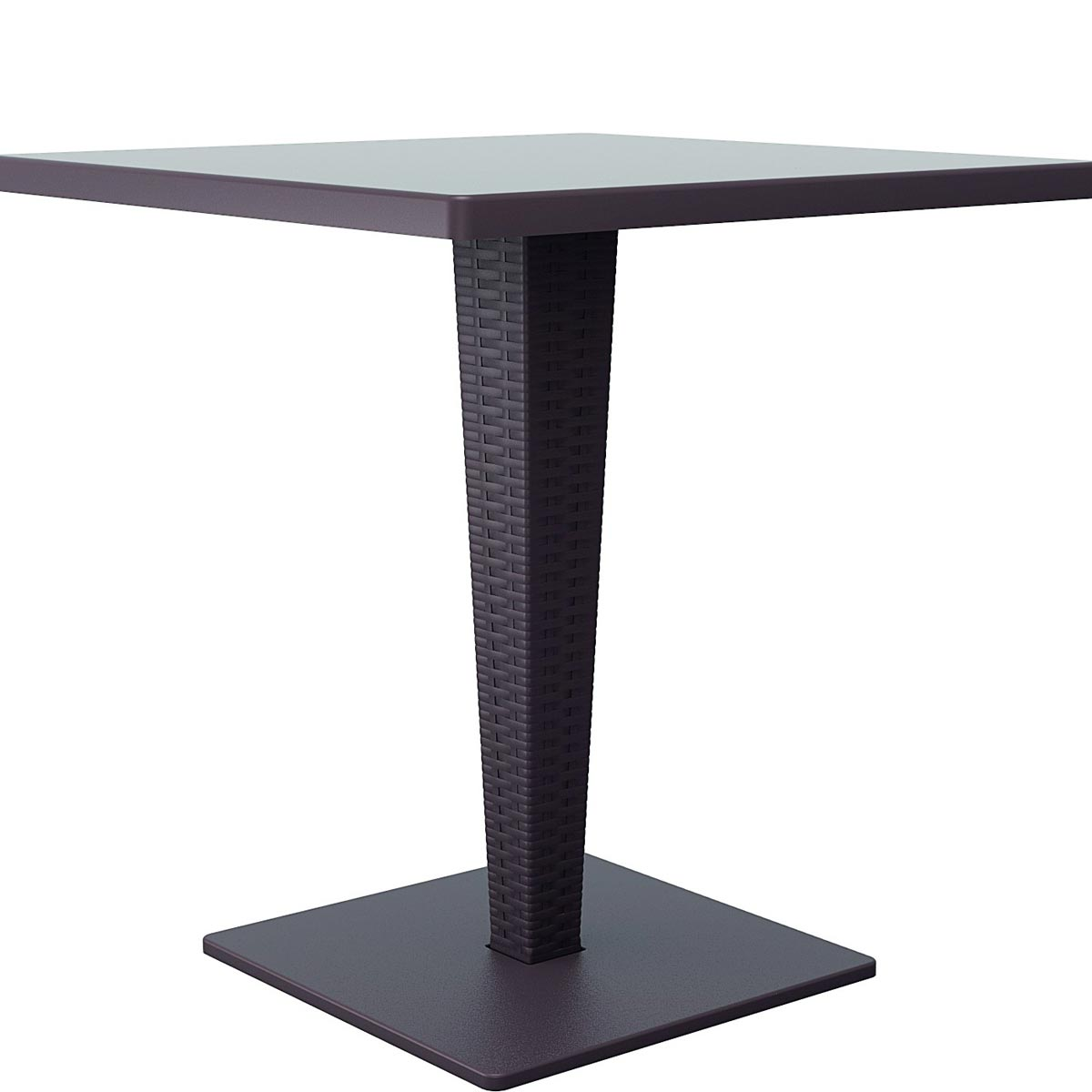Riva Wickerlook Square Dining Table (ISP884-BR)