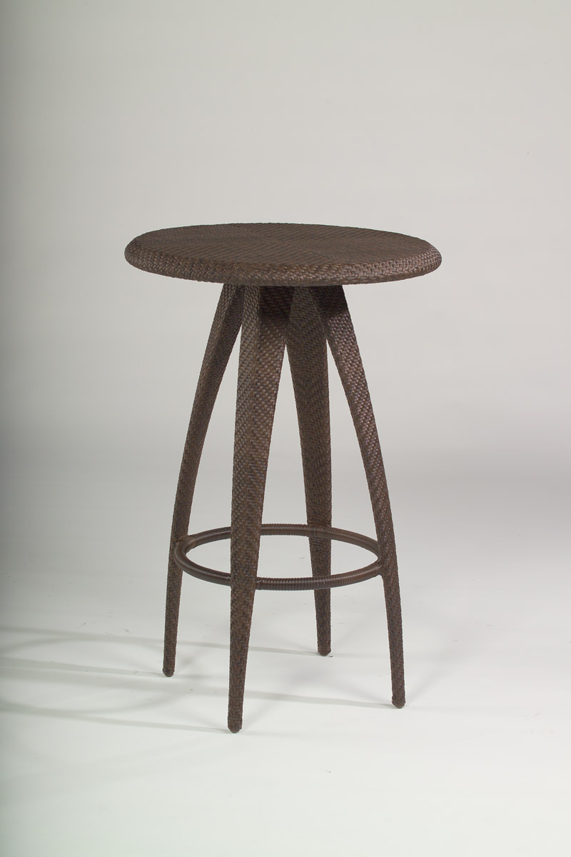 Indo all weather wicker bar table.
