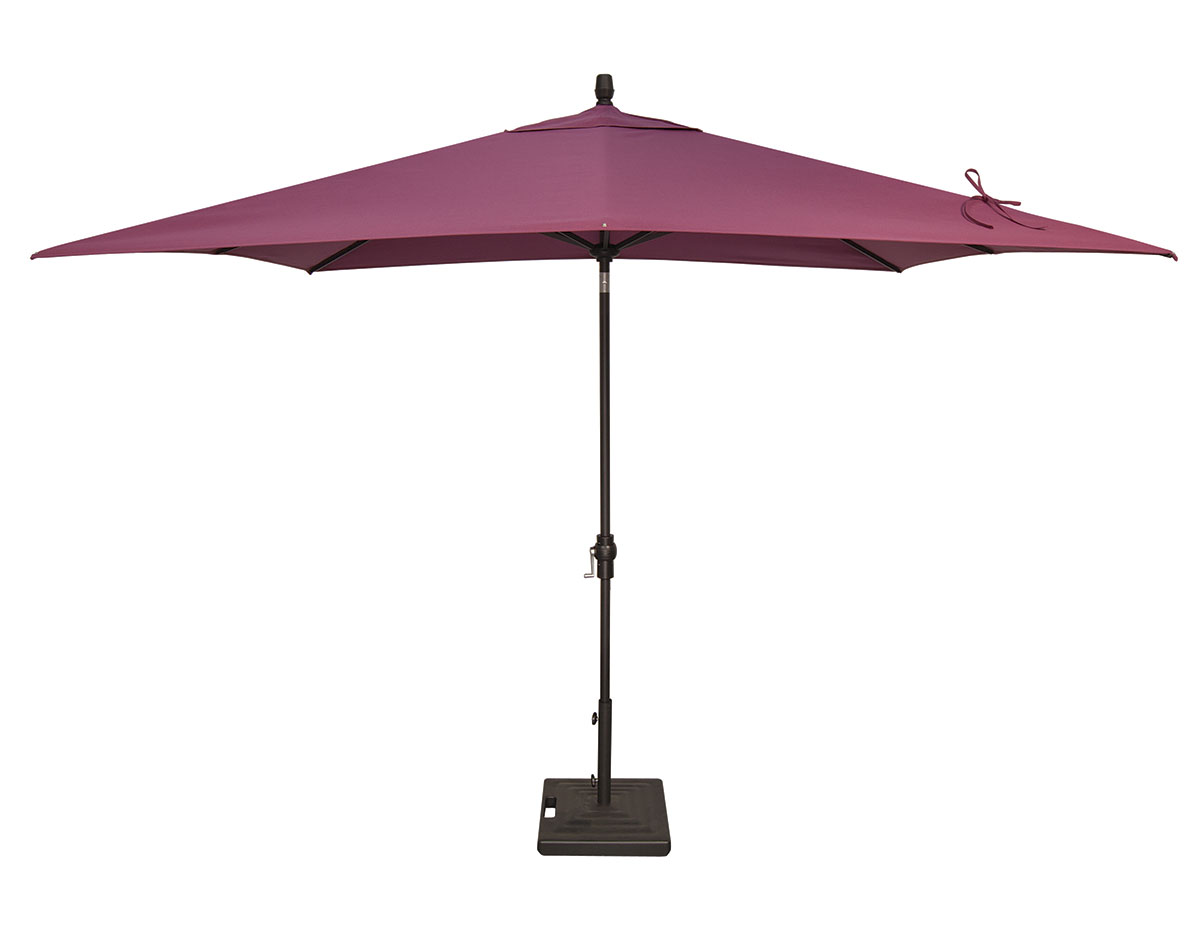 10 39 rectangular auto tilt umbrella um8810rt swv patio