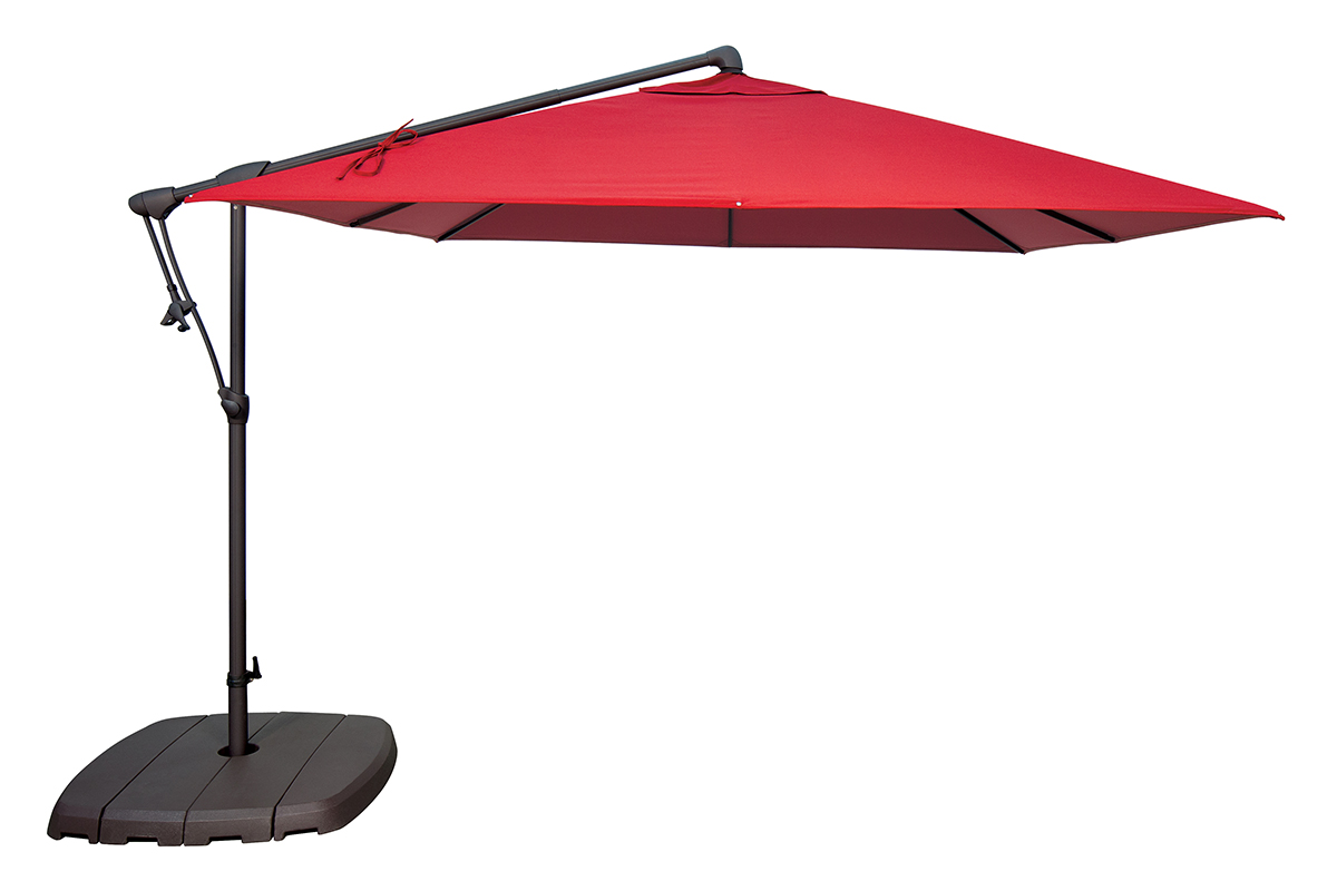 AG19SQ Cantilever Umbrella by Treasure Garden