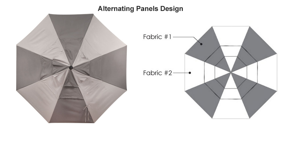 Alternating Panels Design
