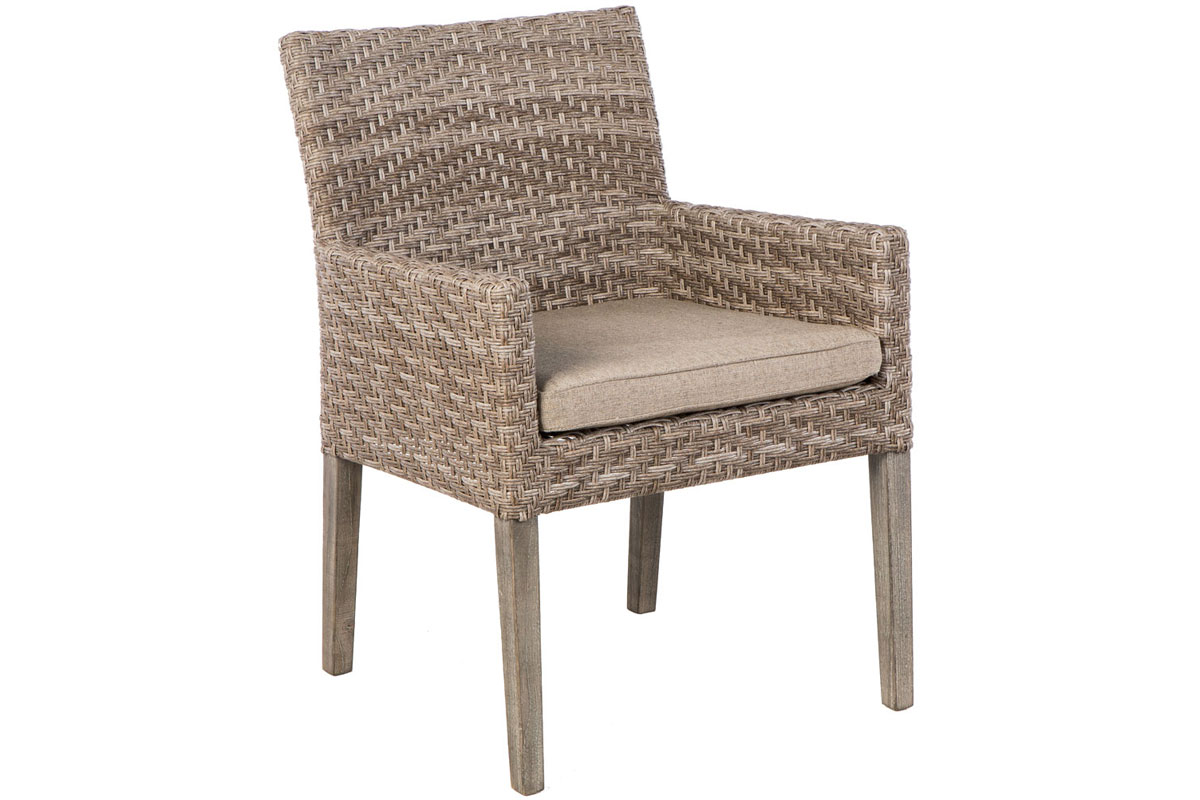 Furniture line the acapulco chair and chat set patio productions -  Cornwall Dining Arm Chair