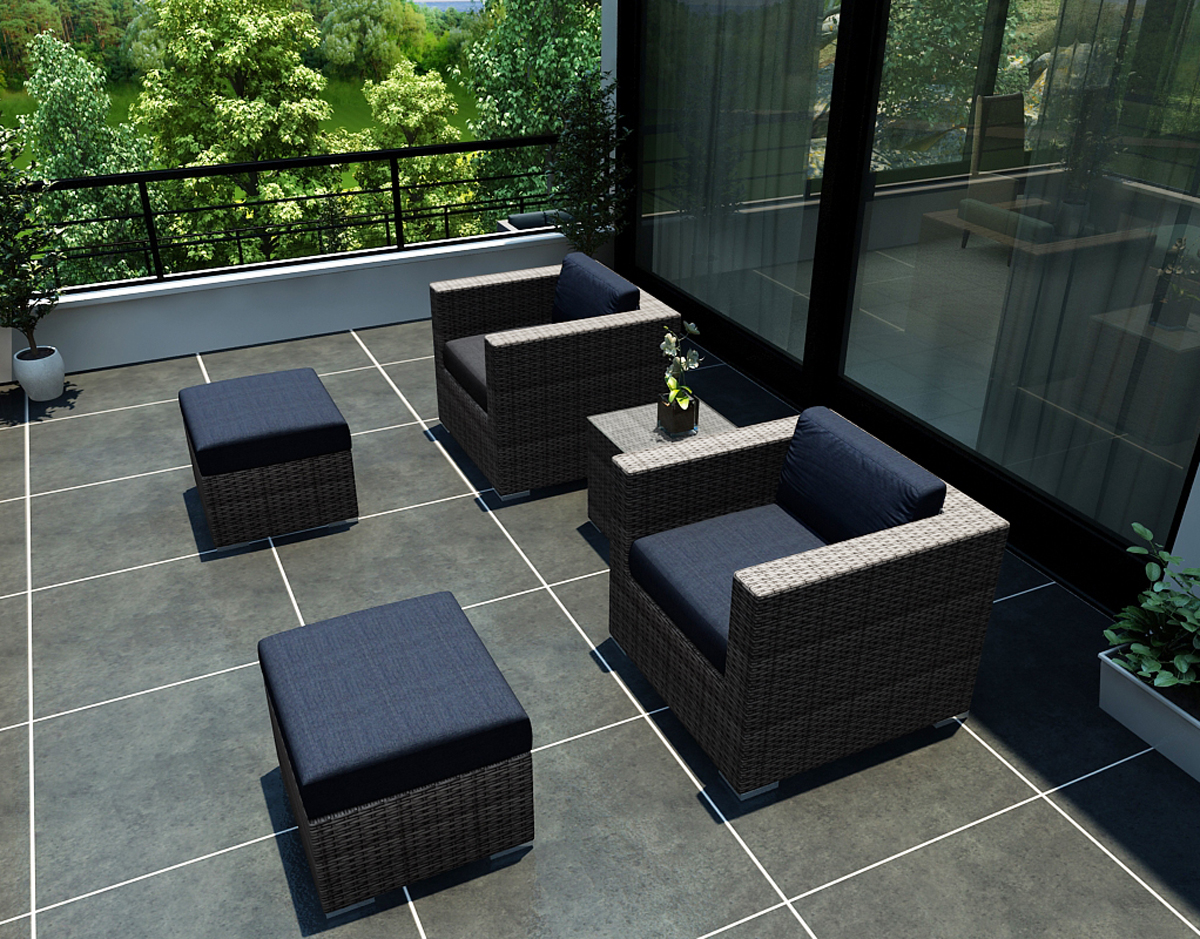 district outdoor patio furniture collection affordable high quality modern sleek
