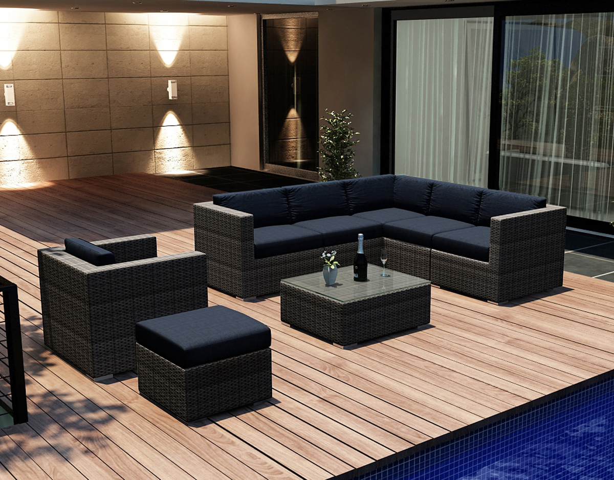 8 Piece District Sectional Set (HL-DIS-TS-8SEC) by Harmonia Living
