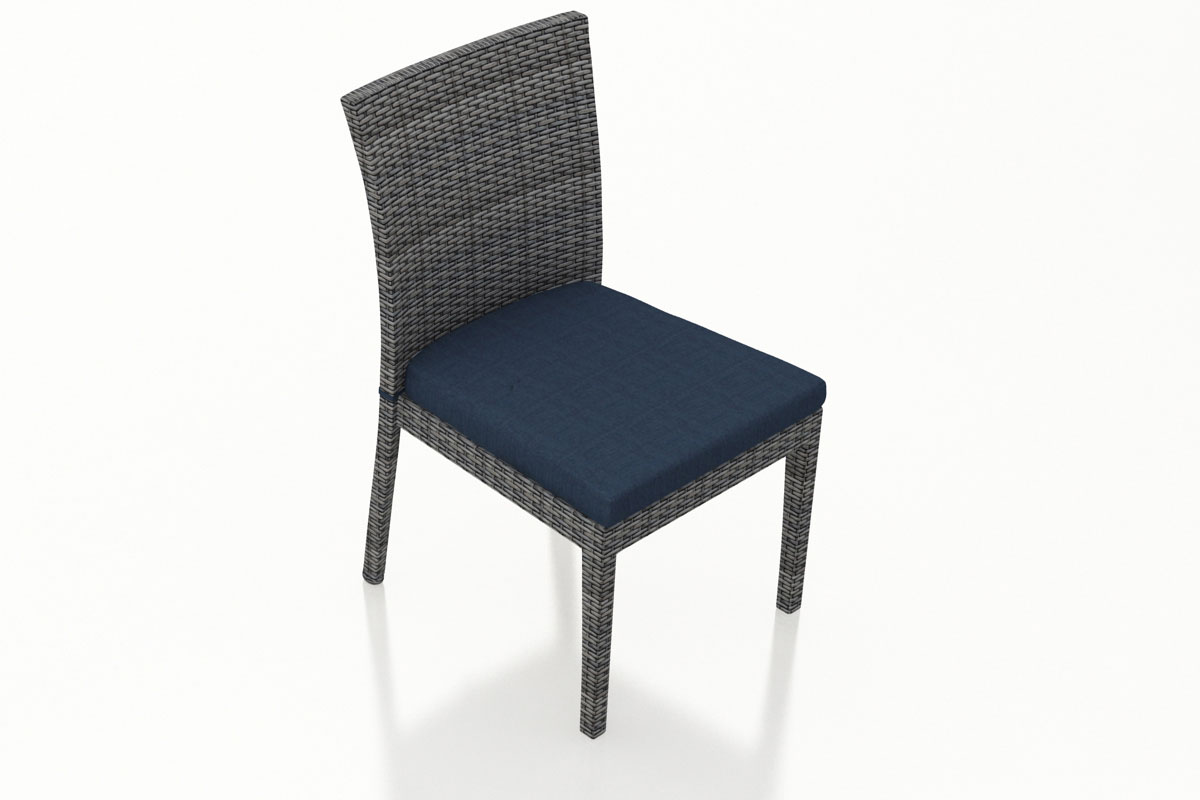 Spectrum Indigo District Dining Side Chair (Set of 2) (HL-DIS-TS-2DSC) by Harmonia Living