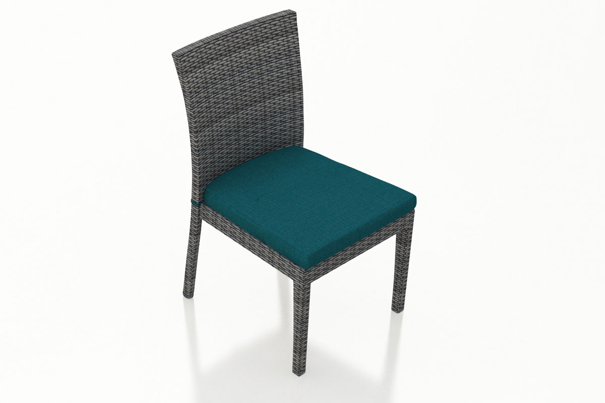 Spectrum Peacock District Dining Side Chair (Set of 2) (HL-DIS-TS-2DSC) by Harmonia Living