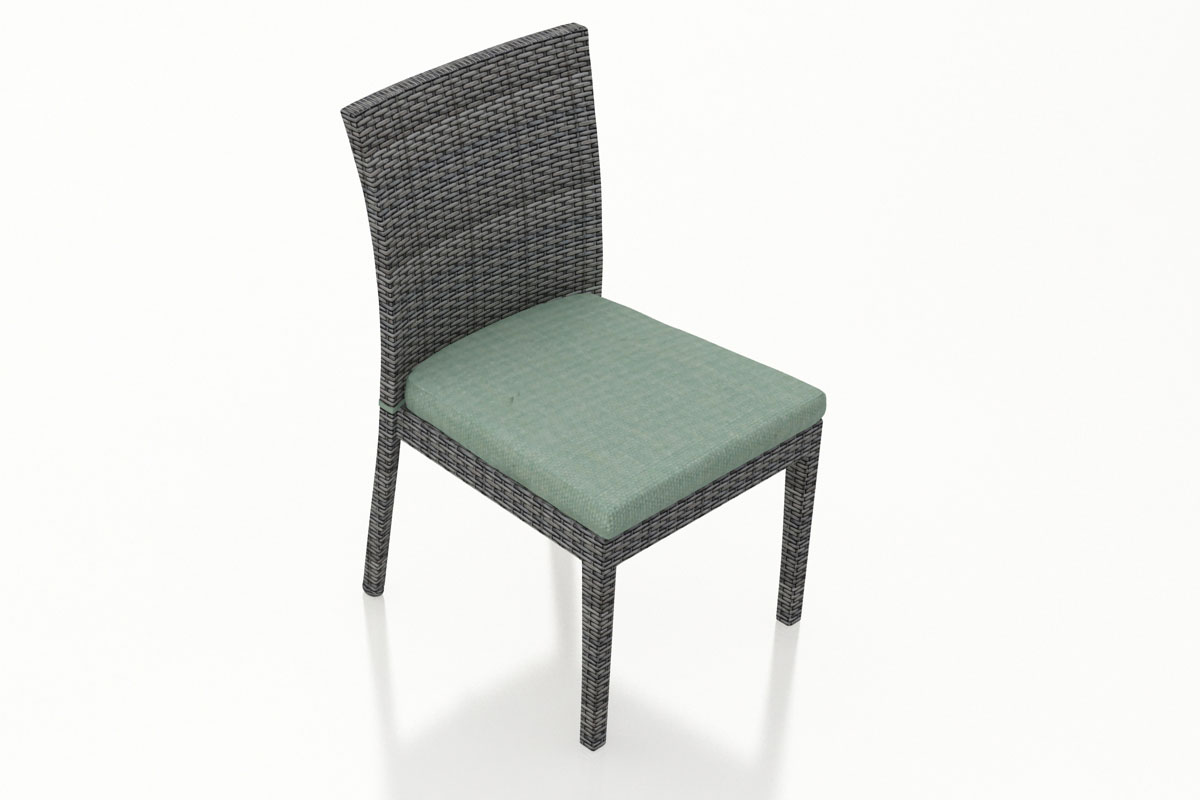 Canvas Spa District Dining Side Chair (Set of 2) (HL-DIS-TS-2DSC) by Harmonia Living