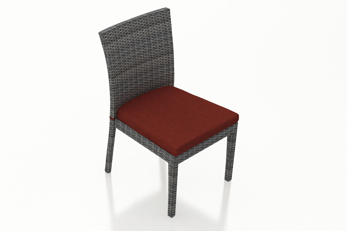 Canvas Henna District Dining Side Chair (Set of 2) (HL-DIS-TS-2DSC) by Harmonia Living