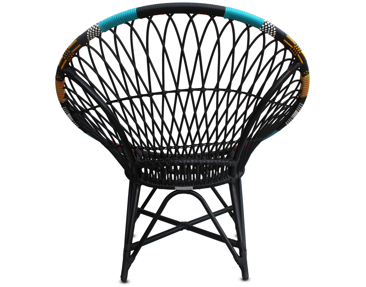 Mandala Lounge Chair - Chaos (HL-MALA-CHAOS-LC) by Harmonia Living