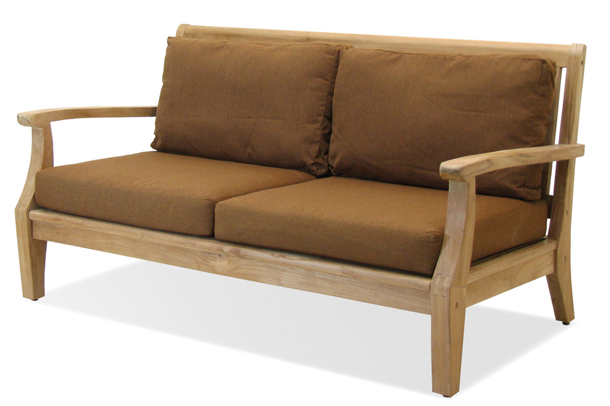 Miramar Plantation Teak 3 Seater Sofa (FP-MIR-3S-TK-CO) by Forever Patio