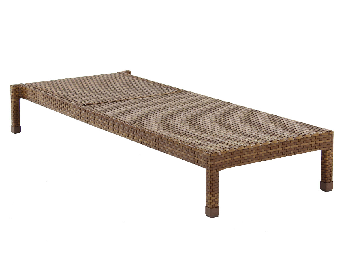 St. Barths Single Chaise Lounge - Reclined