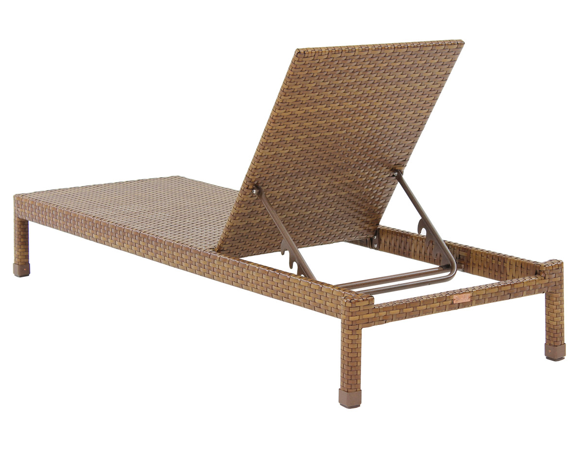 St. Barths Single Chaise Lounge - Back