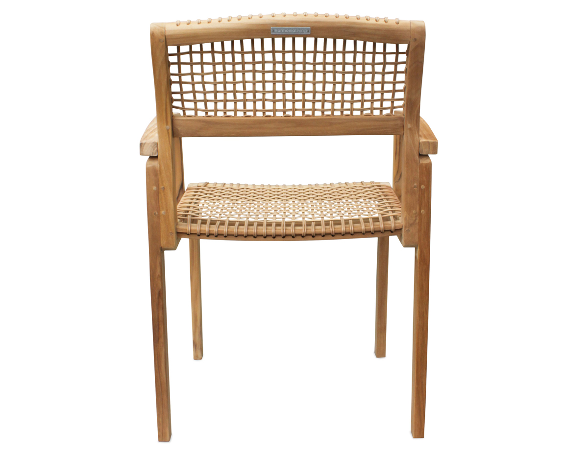 Sands Dining Arm Chair (HL-SNDS-SD-DAC) by Harmonia Living