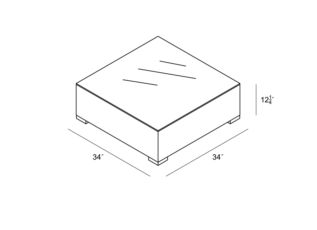 Urbana Coffee Table Dimensions