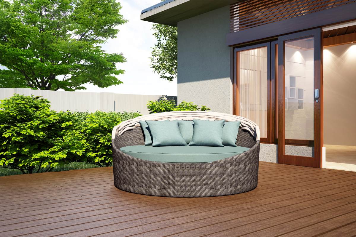 wink canopy day bed hl-wink-ts-db - patio productions