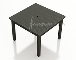 """Barbados 48"""" Square Dining Table FP-BAR-48SDT-EB"""
