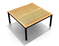 """Arbor 61"""" Square Dining Table HL-AR-CB-8SQDT"""
